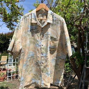 Vintage Kona Kai Trading Co Hawaiian Shirt